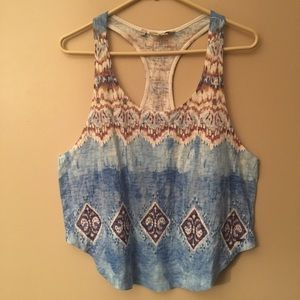 GUESS Patterned Tank Top